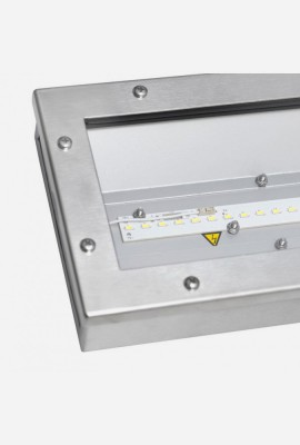 SAULA LED LN up to 128W INOX