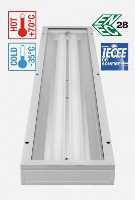 SAULA LED LN iki 128W (antivandaliniai)