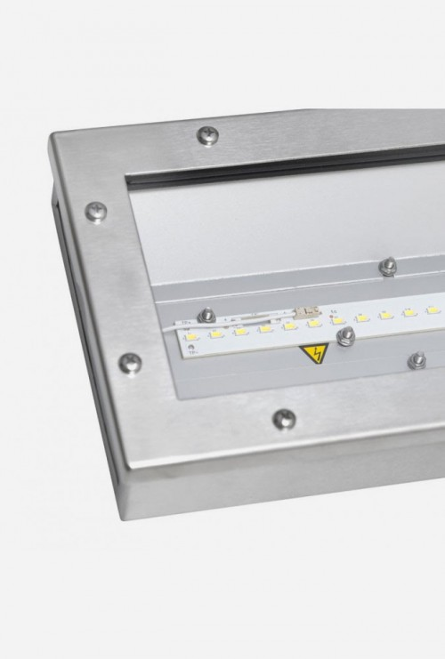 SAULA LED LN up to 128W INOX