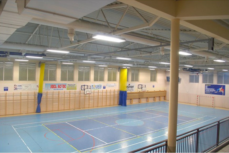 Sport hall in Teresin (Poland)